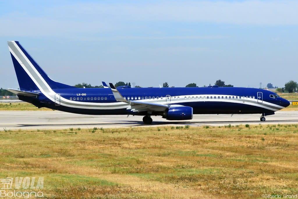 Global Jet Luxembourg Boeing 737-97Y(ER) (BBJ3)