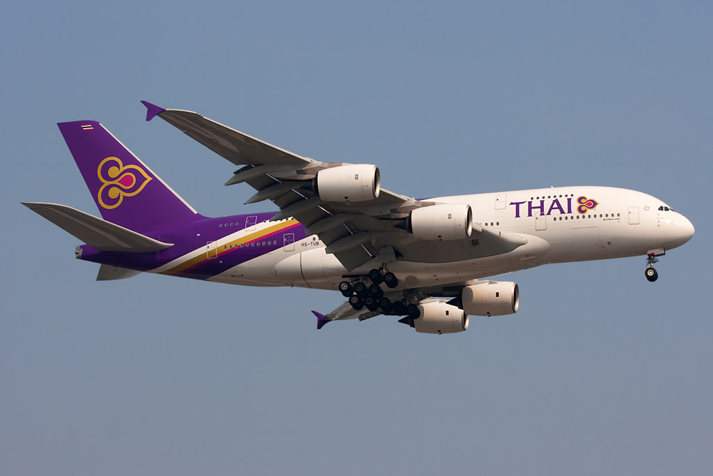 Thai Airways Airbus  A380-800