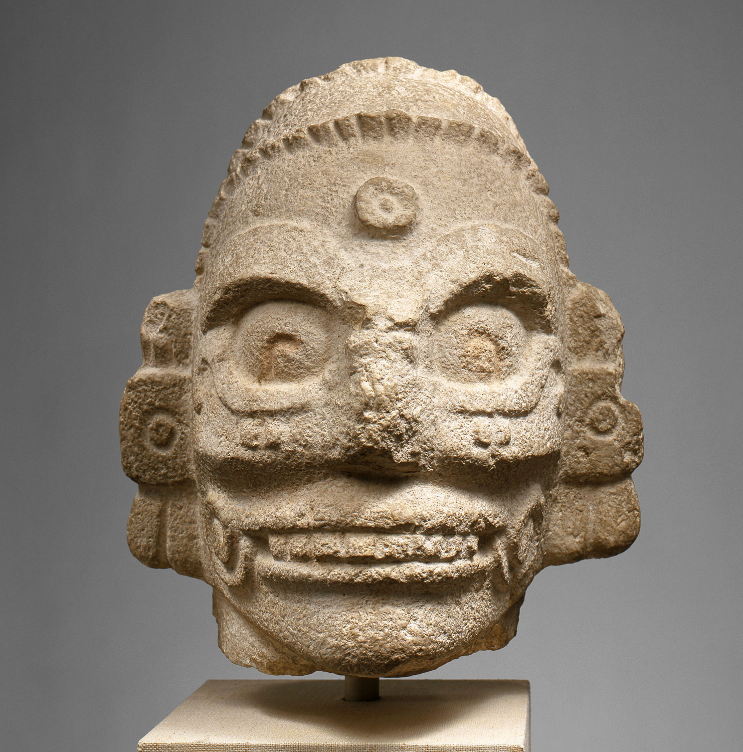 Head of the Rain God - Chaac Mul