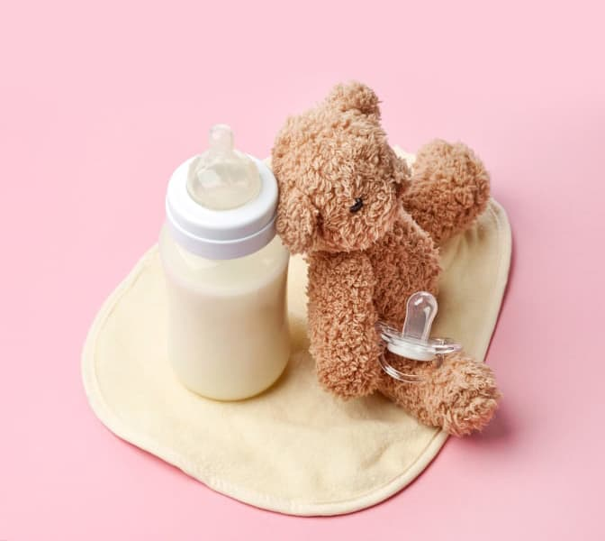 Making enough milk <br>for baby.