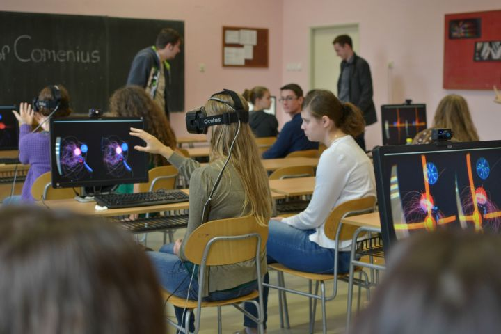 virtual reality in classroom