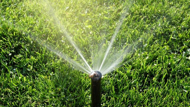 smart watering sprinklers