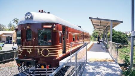 Byron Bay solar train