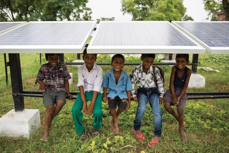 Solar Microgrid in Bihar, India