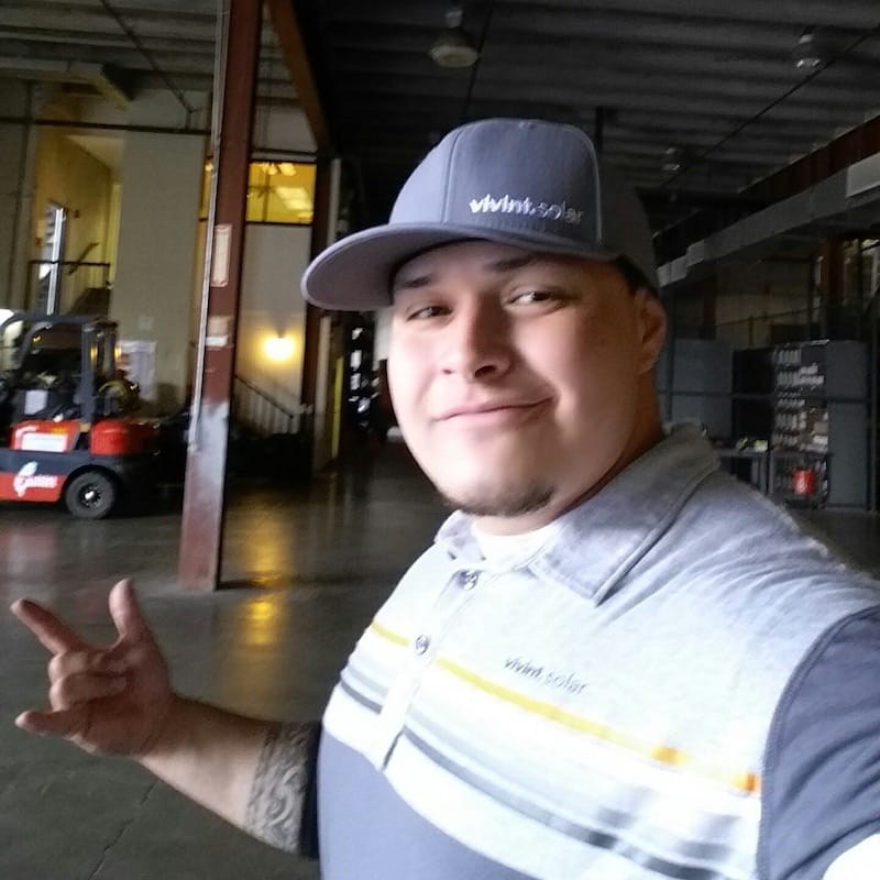 vivint solar employee james jackson