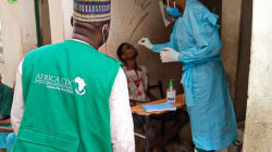 COVID-19 cases in Nigeria go down again