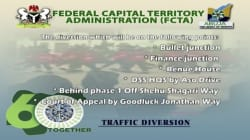 FCTA Announces Traffic Diversion In Abuja For Independence Day Parade Tomorrow