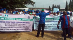Nigerians continue protest against Ghanaian government