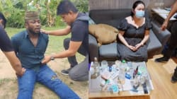 Nigerian drug baron Ikenna, girlfriend busted in Thailand with Cocaine