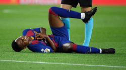 Ansu Fati Barcelona's wonderkid suffers knee injury