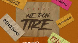 New Song: Orezi releases 'We Don Tire'