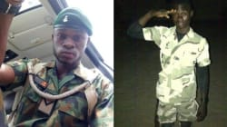 """#EndSARS: """"Do Not Shoot Any Protester Because Na Them Go Fight For Us O!"""" – Nigerian Soldier Advises Colleagues"""