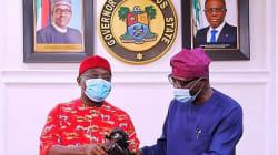 Ikpeazu visits Sanwo-Olu, says attacks on Lagos is an injury to all