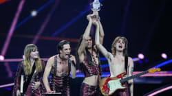 Italy's glam rock band Maneskin wins Eurovision song contest