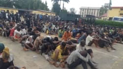 #EndSARS: 520 hoodlums paraded in Lagos