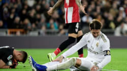 Ramos out of Madrid's Champions League squad