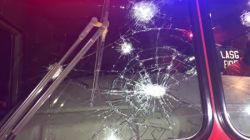 Kara Bridge fire: Lagos emergency workers attacked by miscreants