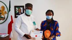 Ugwuanyi receives Enugu's 2020 Maltina Teacher of the Year