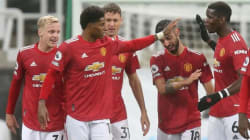 Manchester United set new club record in PSG win