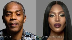 British superstar, Naomi Campbell in EndSARS conversation with Femi Kuti, others