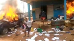 #EndSARS: Hoodlums burn two police stations, vandalise AIT office in Benin