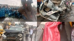 Two drop dead in multiple vehicle crash in Lagos