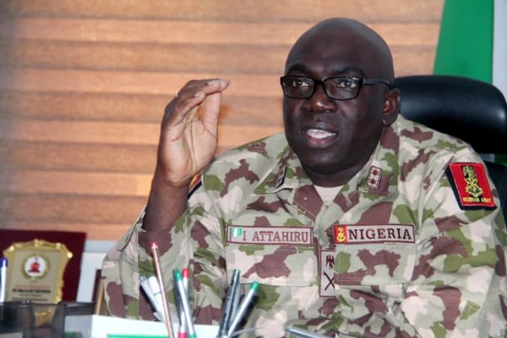 Buhari's new COAS Attahiru was sacked from Boko Haram front