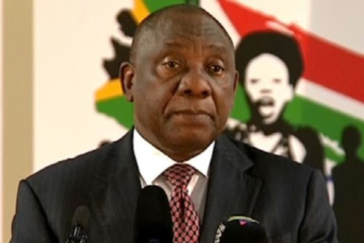 Ramaphosa in quarantine after contact with coronavirus positive guest