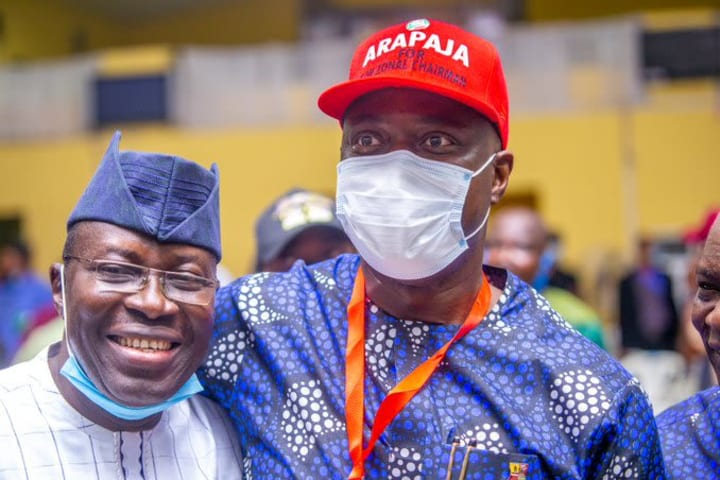 Arapaja narrowly beats Olafeso to lead PDP South west