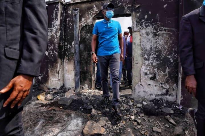 3 days of rage in Lagos: Sanwo-Olu assesses damage