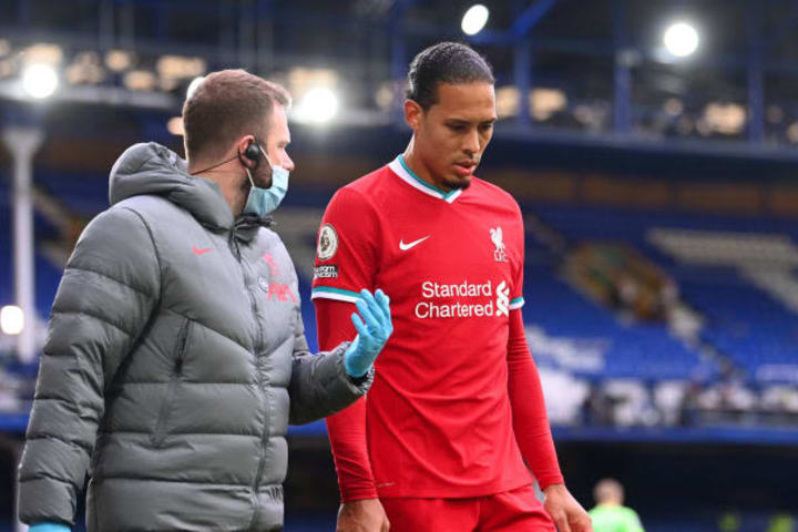 Jurgen Klopp delivers positive injury update on Virgil van Dijk