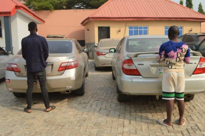 """EFCC arrests seven """"Yahoo Yahoo"""" boys in Ibadan"""