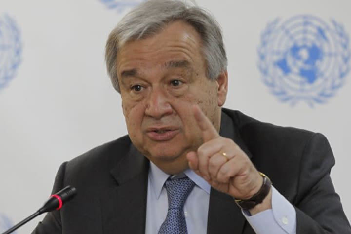 UN chief deeply concerned over Ethiopia's Tigray region