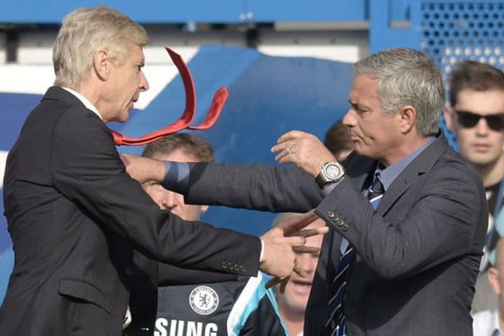 'I feel like I'm in kindergarten with him'- Wenger replies Mourinho