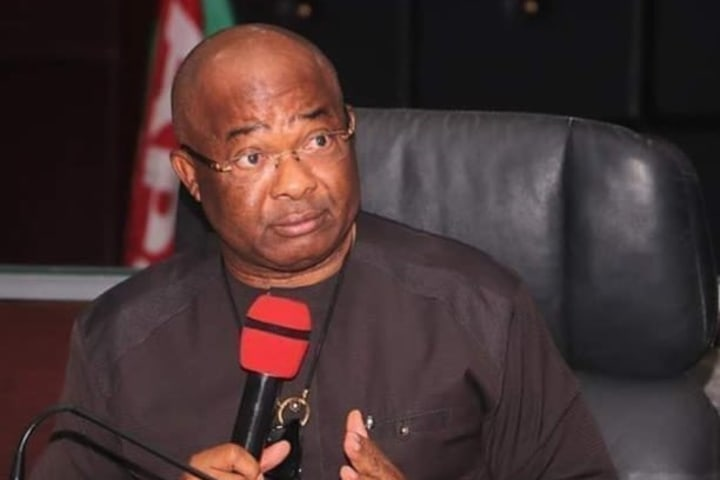 Uzodimma blames 'APC enemies' for Imo attacks
