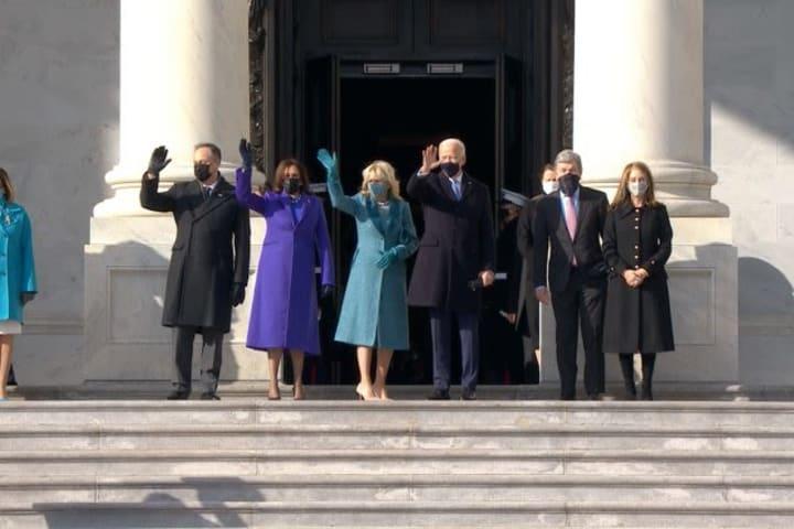 Joe Biden arrives Capitol for inauguration as 46th President