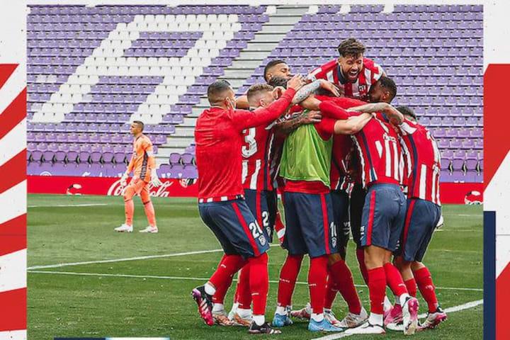 Suarez strike wins La Liga championship for Atletico Madrid