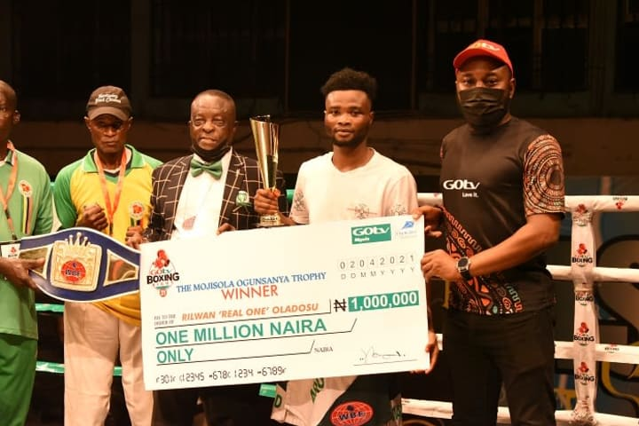 GOtv Boxing Night: 'Real One' thanks sponsors for cash prize