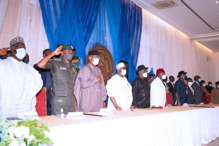 South South governors present demands to Buhari Govt (Details)