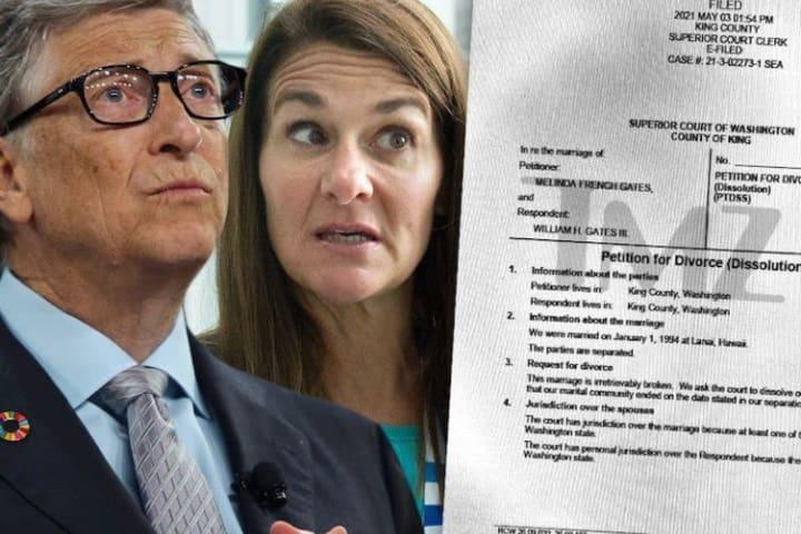Bill Gates and Melinda begin assets sharing