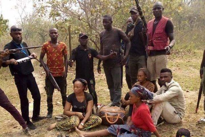 Fierce gun battle as hunters rescue 28 hostages from kidnappers in Kogi