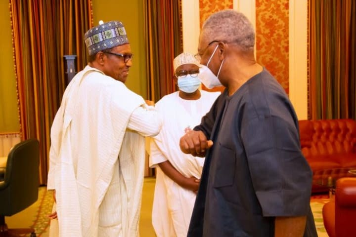 Buhari, Danjuma meet, keep journalists guessing about agenda