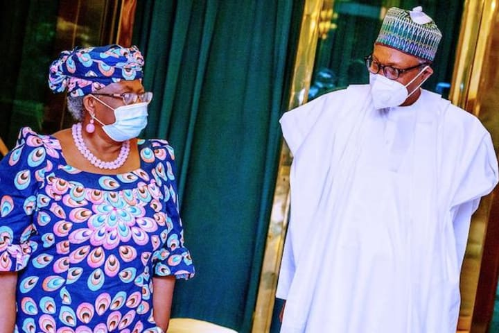 PDP commends Buhari for backing Okonjo-Iweala