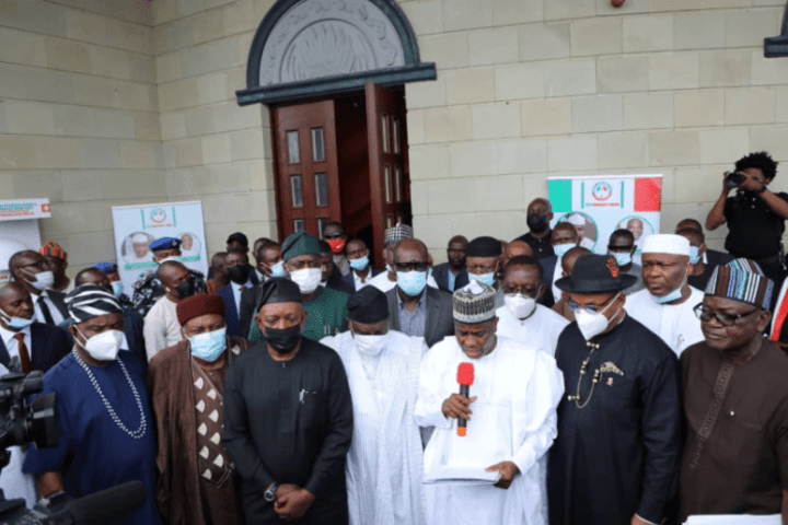 PDP Governors: Nigeria on the brink of failed State