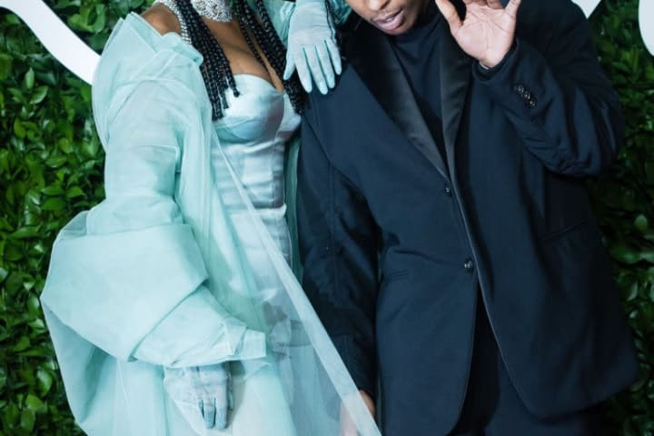 Rihanna is reportedly dating rapper A$AP Rocky