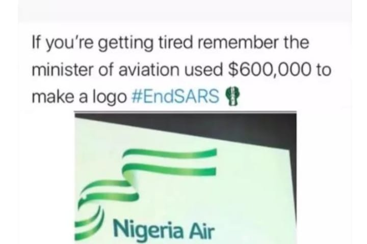 "#EndSARS: ""If You Are Tired, Remember Minister Of Aviation Used $600,000 For Logo"" – Wizkid Gingers Protesters"