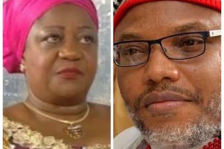 Buhari's aide Onochie drops message for IPOB leader Nnamdi Kanu
