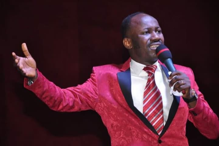 Apostle Suleman breaks silence on messy s3x scandal: 'IGP didn't order probe'