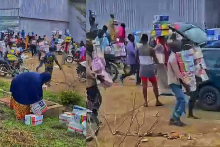 Hoodlums loot COVID-19 palliative warehouse in Osun