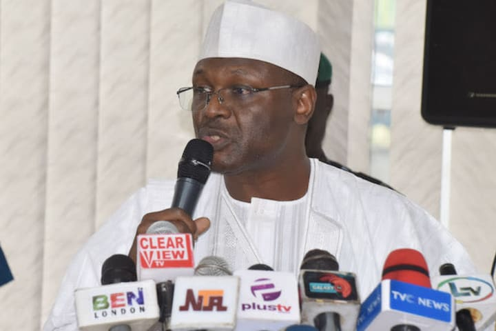 Breaking: Senate confirms Yakubu as INEC chairman